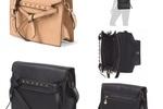 Vegan Faux Leather Crossbody Handbag