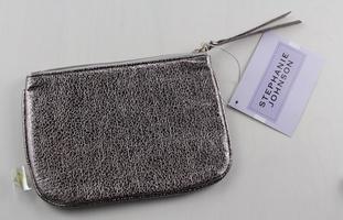 Stephanie Johnson Tinseltown Gunmetal Cosmetic Bag