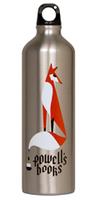 Powell's Ink Tail Fox Water Bottle
