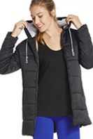 Fabletics Puffin Coat (Size L) RV$99.95