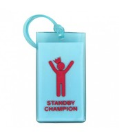 Flight 001 Standby Champion Rubber Luggage Tag