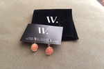 Wantable pink earrings