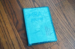 X-Ray Passport Cover from Flight001 in Blue