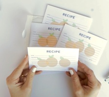 Set of Recipe Cards