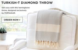 Turkish-T Diamond Throw