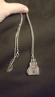 Geeky Cauldron Castle Locket Necklace