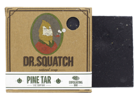 Dr Squatch Pine Tar natural soap