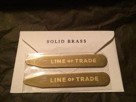 Line of Trade Brass collar stays