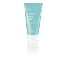 Bliss Aloe Leaf & Peppermint Foot Patrol softening cream