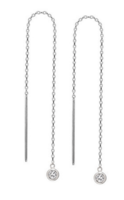 Debra Shepard Sterling Threader Earrings
