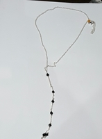 "Land Mine Design Handmade ""exclusive"" Seven Bead Necklace"
