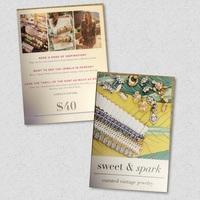 Sweet & Spark Gift Card -$40