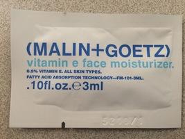 Malin + Goetz Vitamin E Face Moisturizer - Sample