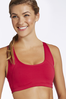 Fabletics Red Doon Sports Bra