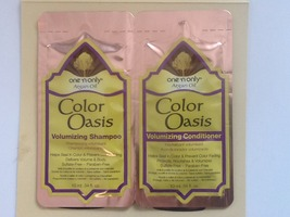 One n only Aragan oil color oasis volumizing shampoo and conditioner