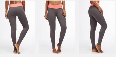 Salar Legging Dark Grey/Pop Coral (M)