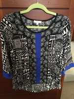 Kori Mixed Print Blouse
