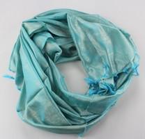 Silk Scarf - It's a darker blue - deep blue