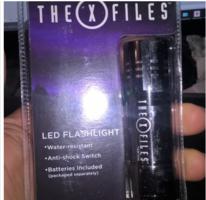 X-Files LED Flashlight