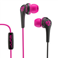 Core Custom Fit Earbuds - Pink/Black