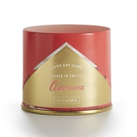 Illume luxury soy candle in Anemone