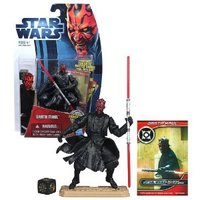 Star Wars Movie Heroes Galactic Battle Game - Darth Maul