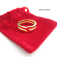 Node by J.Fontes SIOUL 14K Gold Plated Ring
