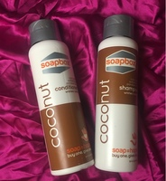Soapbox Coconut Oil Shampoo & Conditioner with Shea Butter