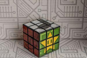 Arcade Block exclusive Mario-themed Puzzle Cube