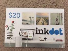 $20 inkdot Gift Card