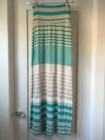 Promesa Striped Maxi Skirt