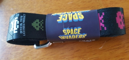 Space Invaders 6 Foot Leash