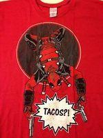 Deadpool Tacos Loot Crate t-shirt