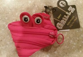 ZIPIT Grillz Mini Pouch Coin Pouch, Pink