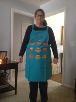 Torchons and Bouchons apron