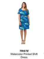 Triste Watercolor dress