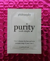Philosophy Purity Made Simple 3-in-1 Cleanser for Face & Eyes