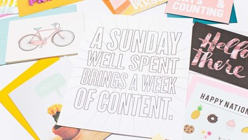 A Sunday Well Spent Print