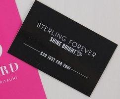 Sterling Forever $30 gift card