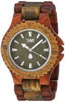 WeWood Date Brown Army Watch
