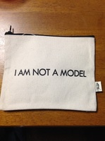 Pamela Barsky Pouch I Am Not a Model