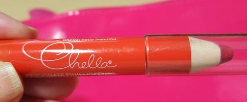 Chella Passionate Pink Moisturizing Lipstick Pencil