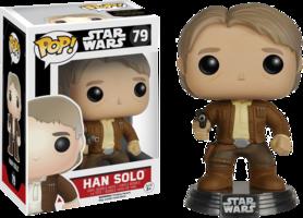 Star Wars The Force Awakens Han Solo  Funko POP figure