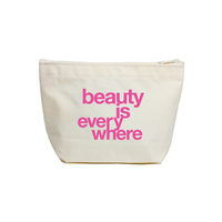 Dogeared Lil' Zip Pouch - Beauty is Everywhere