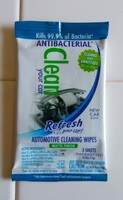 Refresh Your Car Antibacterial Automotive Cleaning Wipes 3 Pack