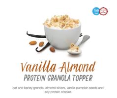 Vanilla Almond Protein Granola Topper