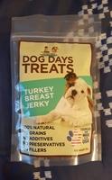 Dog Days Treats Turkey Breast Jerky