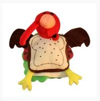 MultiPet Silly Turkey Sandwich Toy