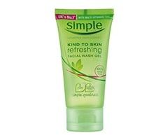 Simple Refreshing Facial Wash Gel