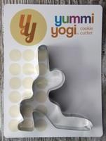 Yummi Yogi Cookie Cutter -- CRESCENT LUNGE POSE